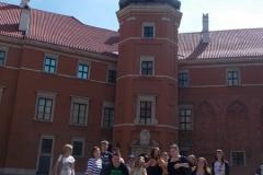 przed Zamkiem Królewskim