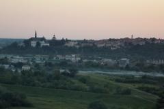 36. Sandomierz wieczorem. Widok z Gor Pieprzowych