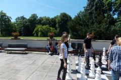58. Baranow Sandomierski, szachy w ogrodzie