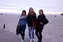 mazurskie dziewczyny na plaży w Gdyni
