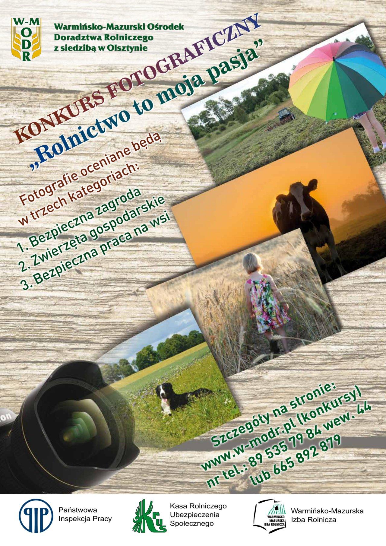 Plakat Konkurs Fotograficzny